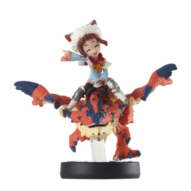 image de l amiibo Rider Fille et Rhatalos  visible sur amiibo-collection.com
