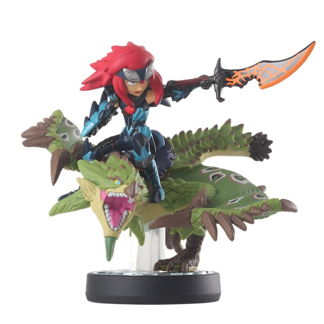 Cheval et Rathian visible sur amiibo-collection.com