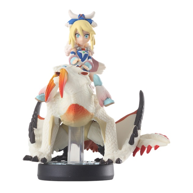 Ayulia et Barioth visible sur amiibo-collection.com