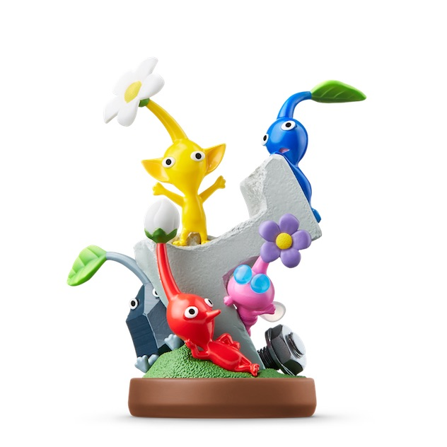 image de l amiibo Pikmin visible sur amiibo-collection.com