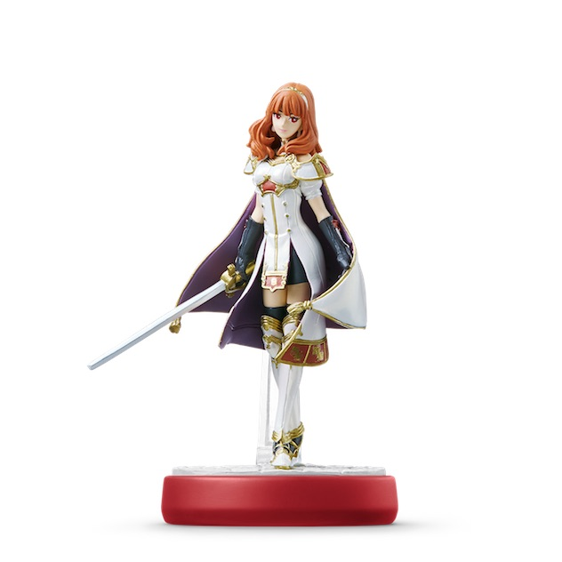 image de l amiibo Celica visible sur amiibo-collection.com