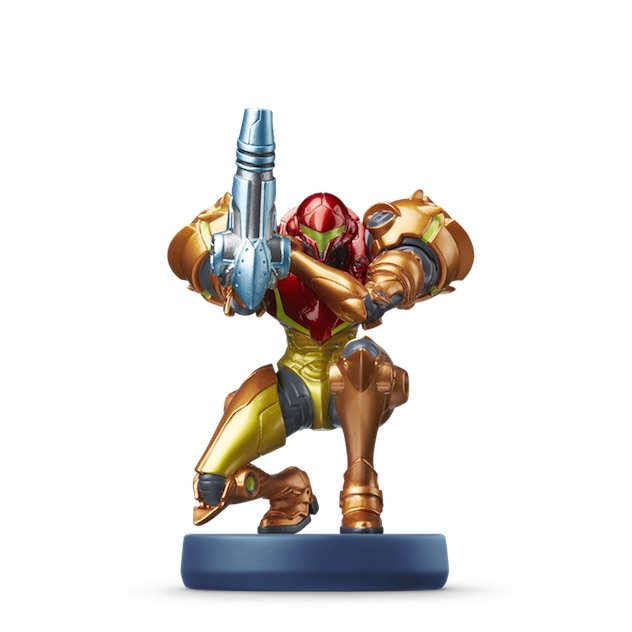 Samus Aran visible sur amiibo-collection.com