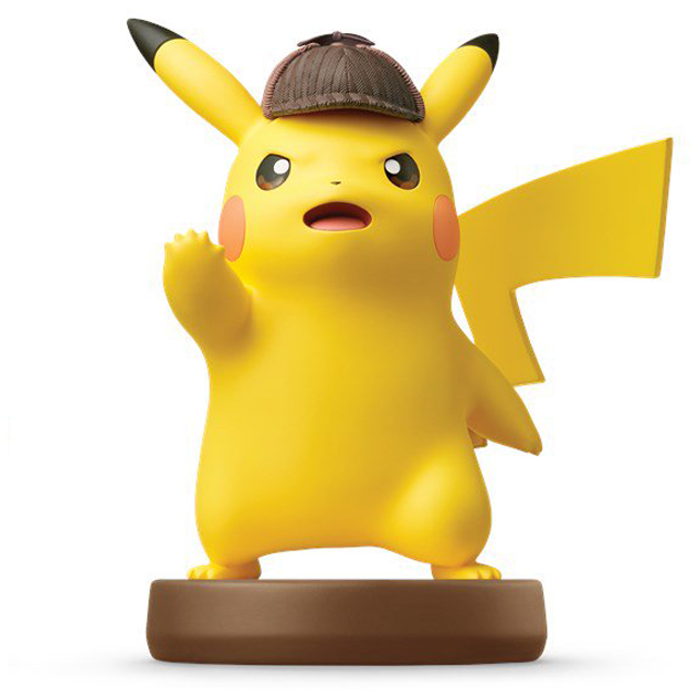 image de l amiibo Détective Pikachu visible sur amiibo-collection.com