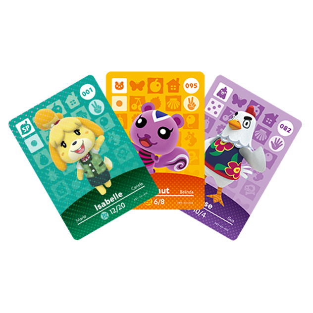 Voir l amiibo Cartes Animal Crossing - Série 1