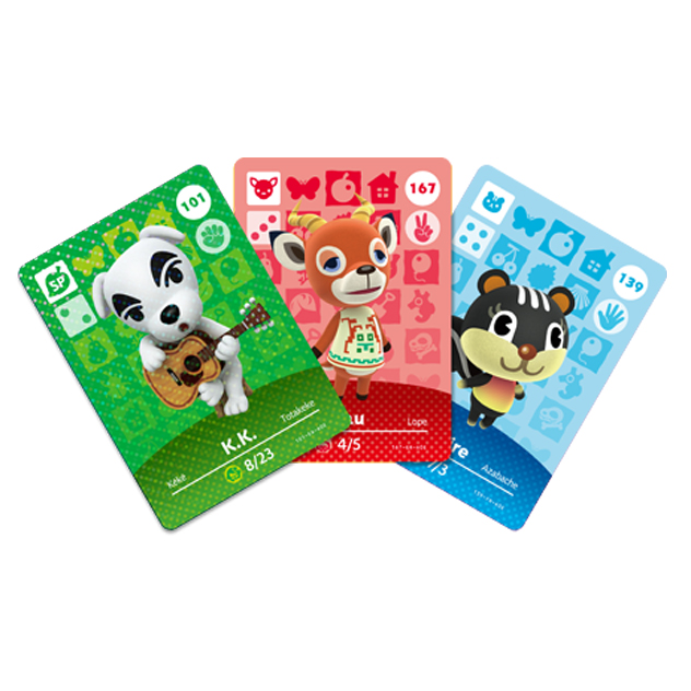 image de l amiibo Cartes Animal Crossing - Série 2 visible sur amiibo-collection.com