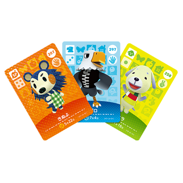 image de l amiibo Cartes Animal Crossing - Série 3 visible sur amiibo-collection.com