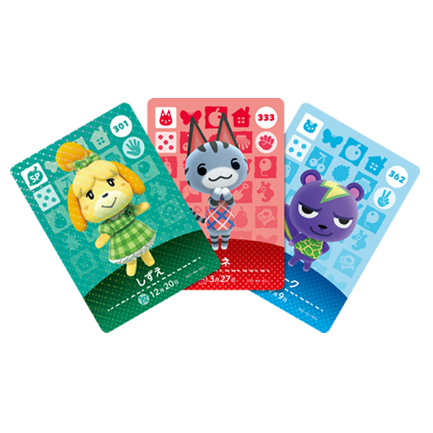 Voir l amiibo Cartes Animal Crossing - Série 4