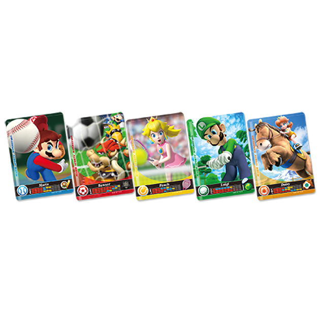Voir l amiibo Cartes Mario Sports Superstars