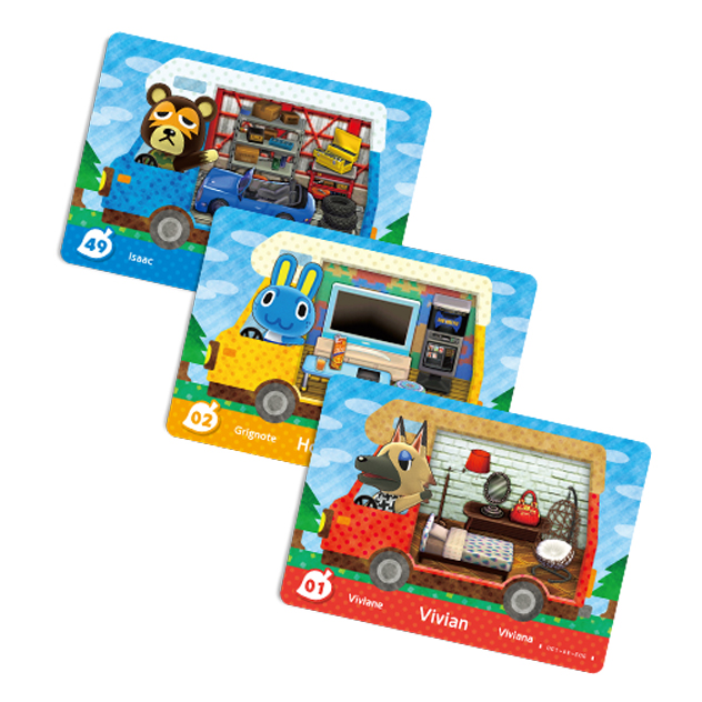 Cartes Animal Crossing - New Leaf Welcome visible sur amiibo-collection.com