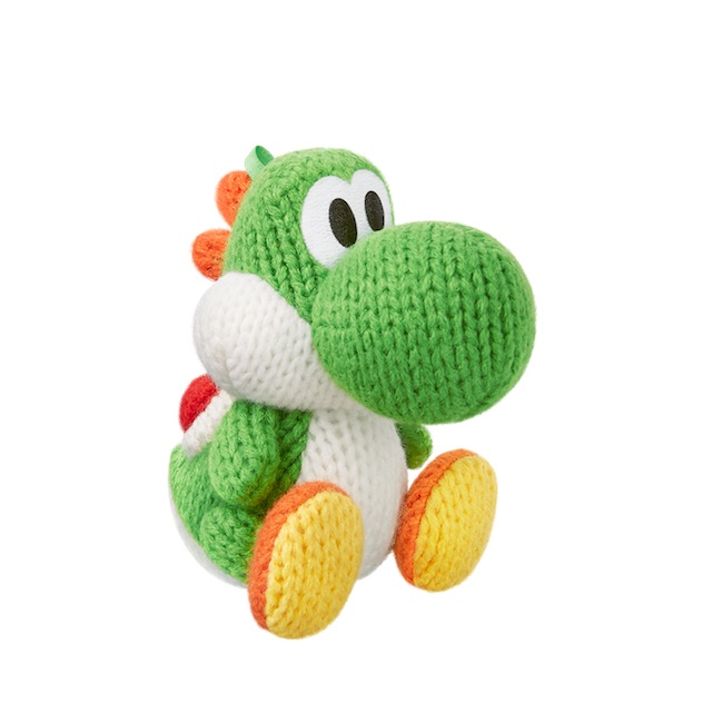 image de l amiibo Yoshi de Laine Verte visible sur amiibo-collection.com