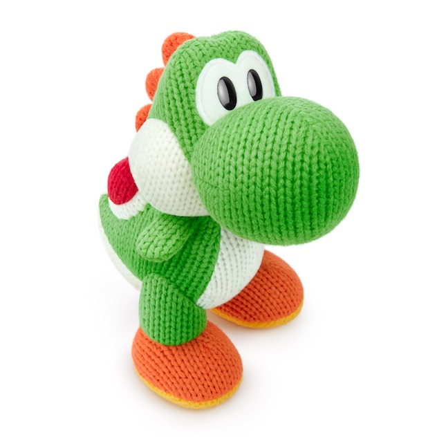 image de l amiibo Méga Yoshi de laine visible sur amiibo-collection.com