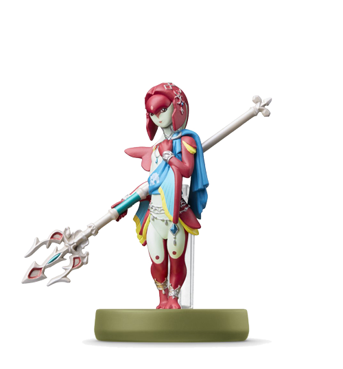 Amiibo Mipha issu de la série The Legend of Zelda