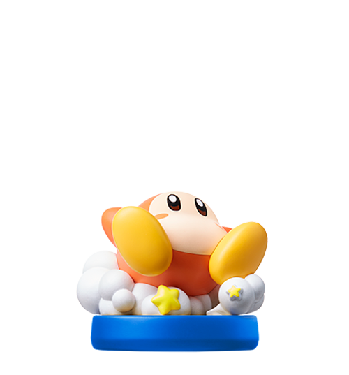 Waddle Dee visible sur amiibo-collection.com