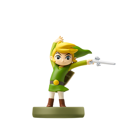 Toon Link - The Wind Waker visible sur amiibo-collection.com