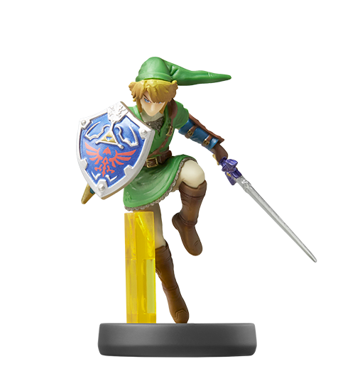 Link™ visible sur amiibo-collection.com