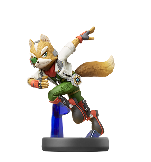 Fox Mc Cloud visible sur amiibo-collection.com