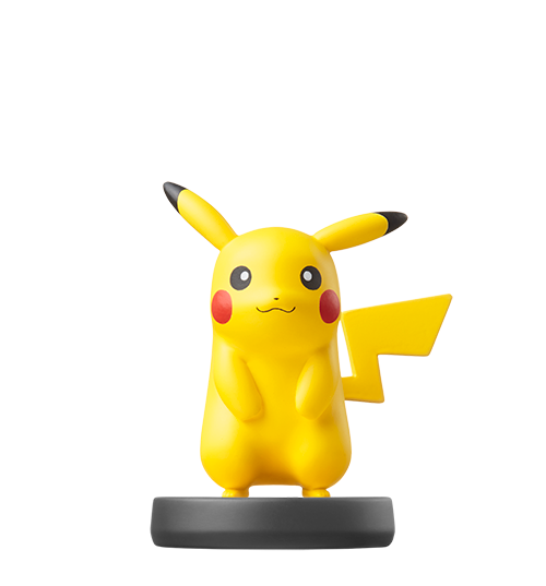 Pikachu visible sur amiibo-collection.com