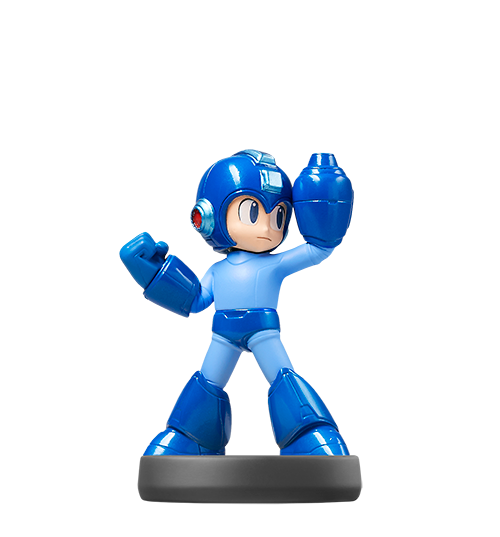 Mega Man visible sur amiibo-collection.com