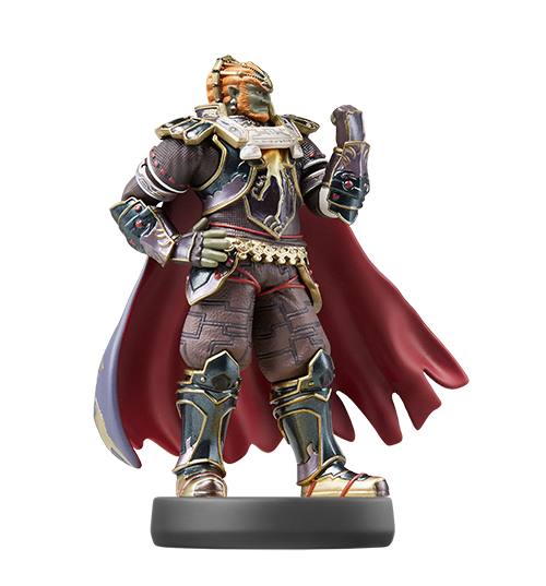 Ganondorf visible sur amiibo-collection.com