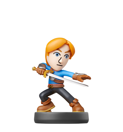 Epéiste Mii visible sur amiibo-collection.com