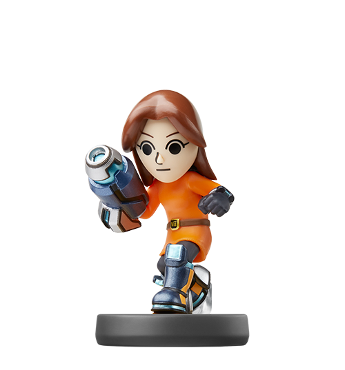 Tireur Mii visible sur amiibo-collection.com