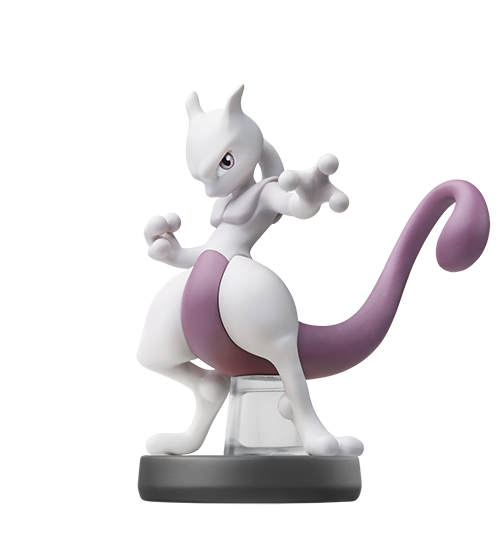 Mewtwo visible sur amiibo-collection.com