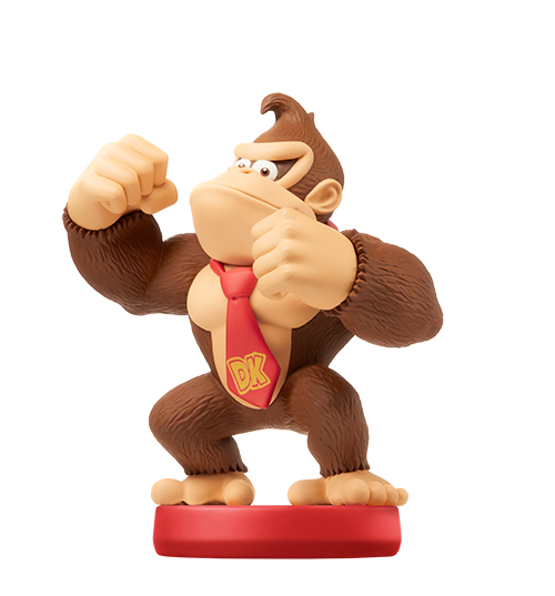 Donkey Kong visible sur amiibo-collection.com