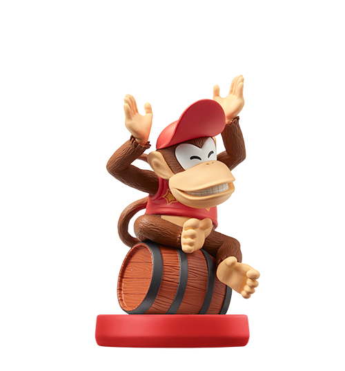 Diddy Kong visible sur amiibo-collection.com