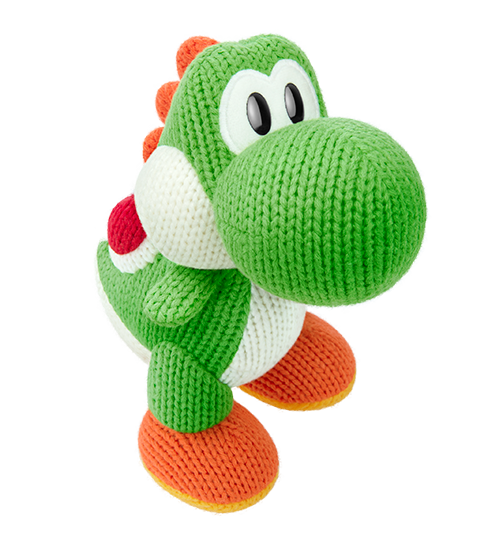 Méga Yoshi de laine visible sur amiibo-collection.com