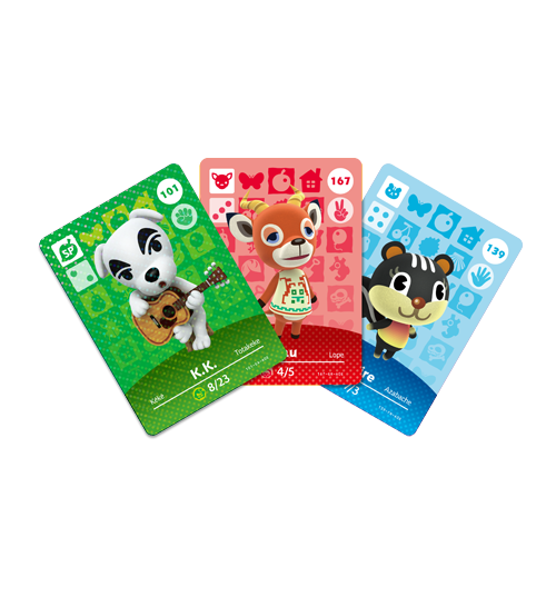 Cartes Animal Crossing - Série 2 visible sur amiibo-collection.com