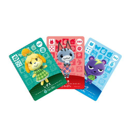 Cartes Animal Crossing - Série 4 visible sur amiibo-collection.com