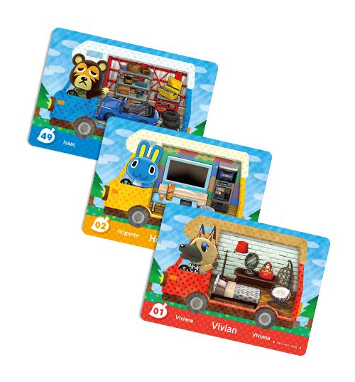 Animal Crossing Cards visible sur amiibo-collection.com