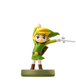 toon-link-the-wind-waker visible sur amiibo-collection.com