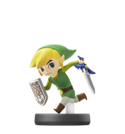 Visuel de l Amiibo Link Cartoon