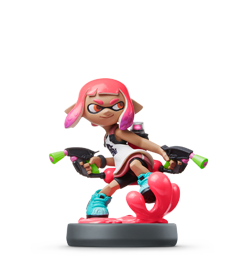 fille-inkling-rose-collection-splatoon visible sur amiibo-collection.com