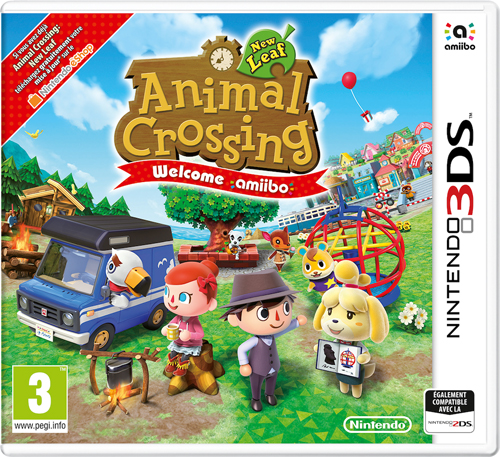 Jaquette Animal Crossing New Leaf Welcome amiibo