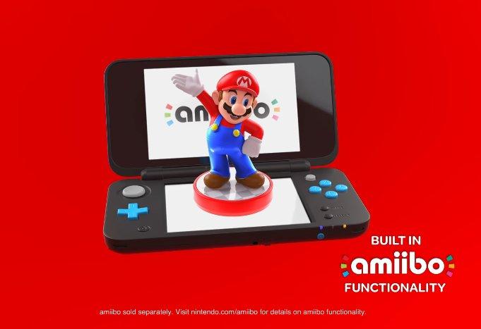 amiibo compatible via le lecteur NFC présent sur le 2e écran