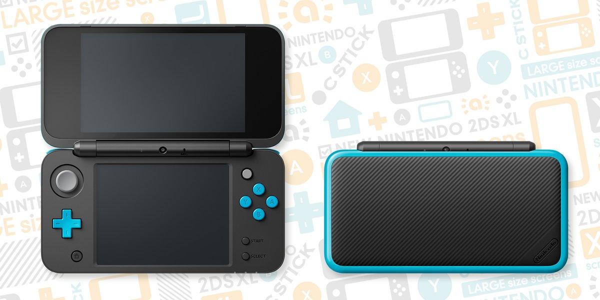New 2DS XL Noir et turquoise