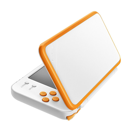 New 2 ds XL orange et blanche