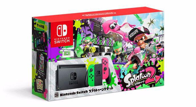 Pack Nintendo Switch + Splatoon 2 version Japonaise