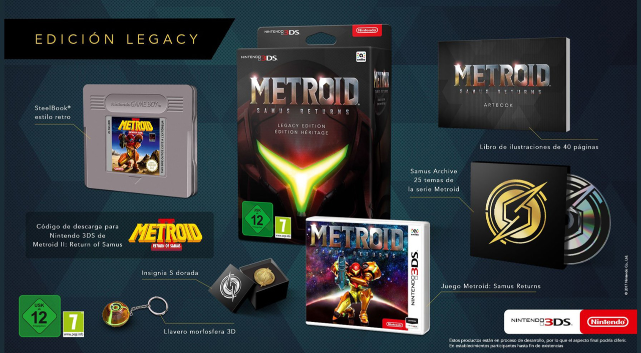 Pack collector Metroid the Samus Retunr