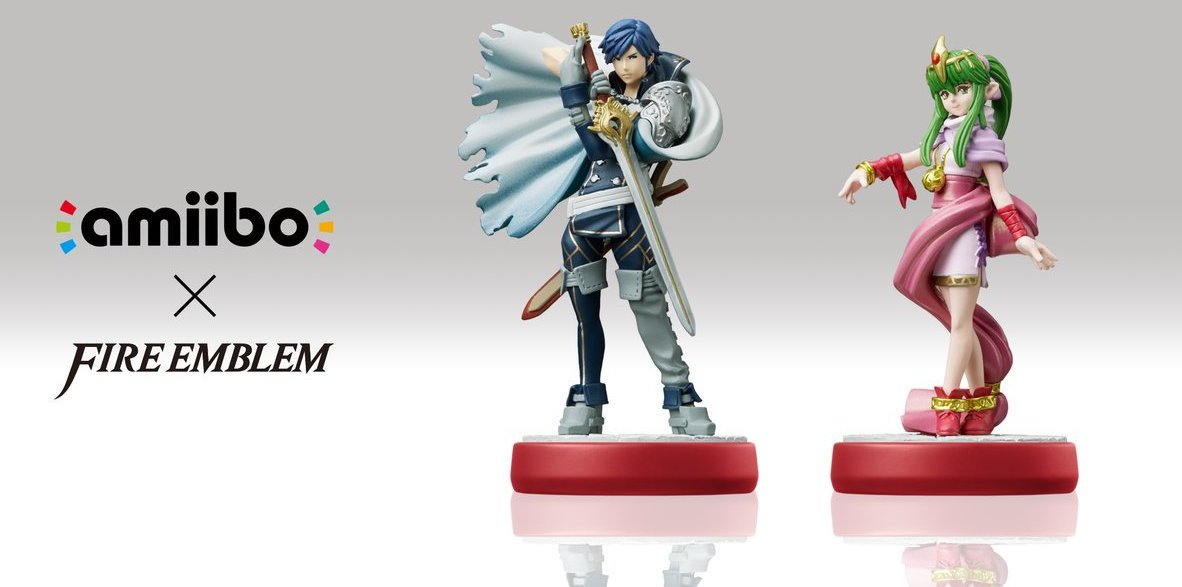 Preview figurines amiibo Fire Emblem : Chrom et Tiki