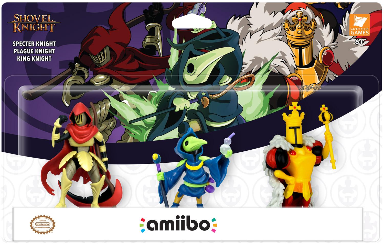 Tripack amiibo Shovel Knight