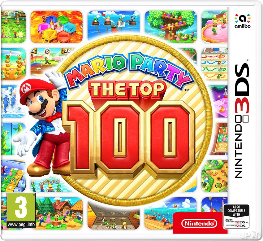 Jaquette 3DS Mario Party Top 100