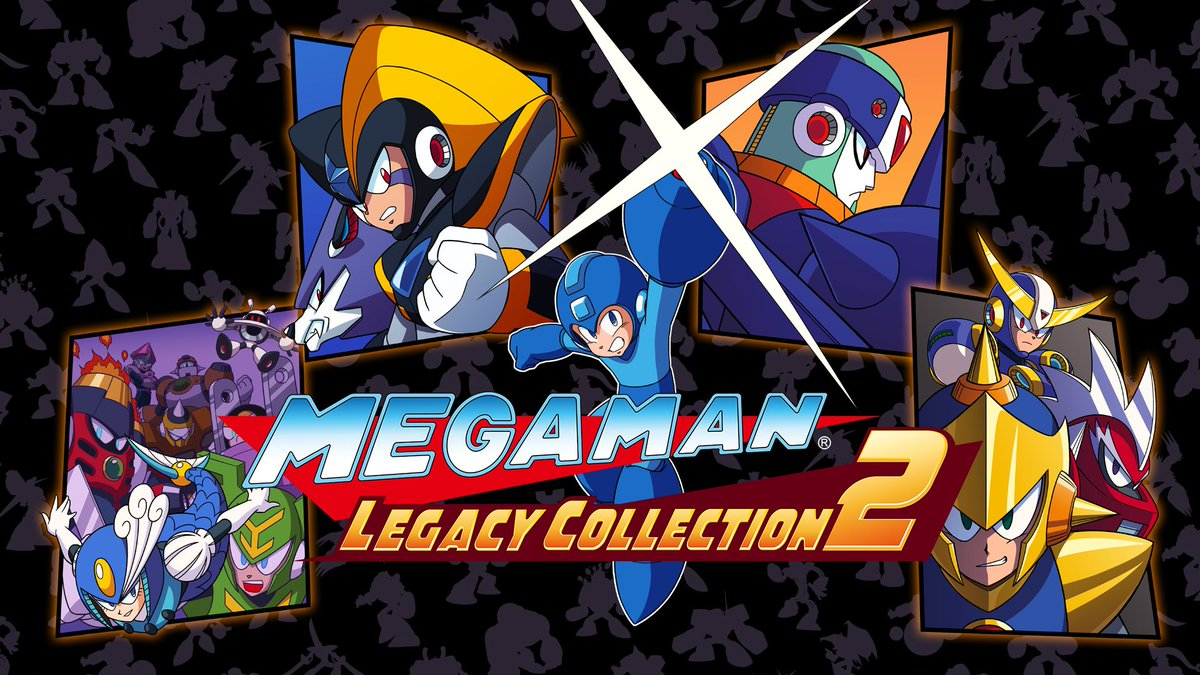 banniere Megaman Legacy collection 1 et 2