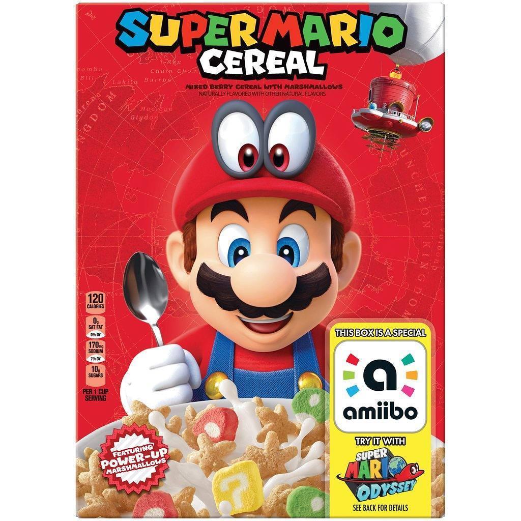 Paquet de c�r�laes Mario