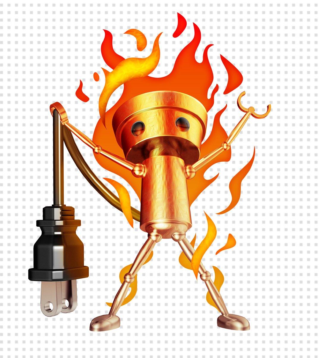 Leak de Chibi-Robo en feu par Nintendo America