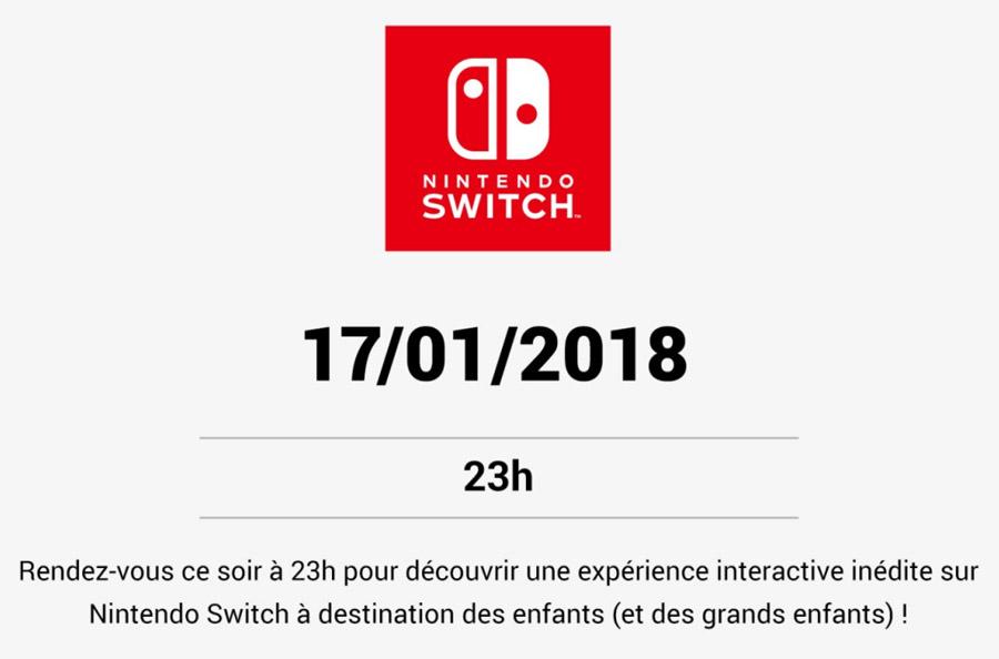 Nintendo Live, annonce d'une nouvelle expérience de jeu
