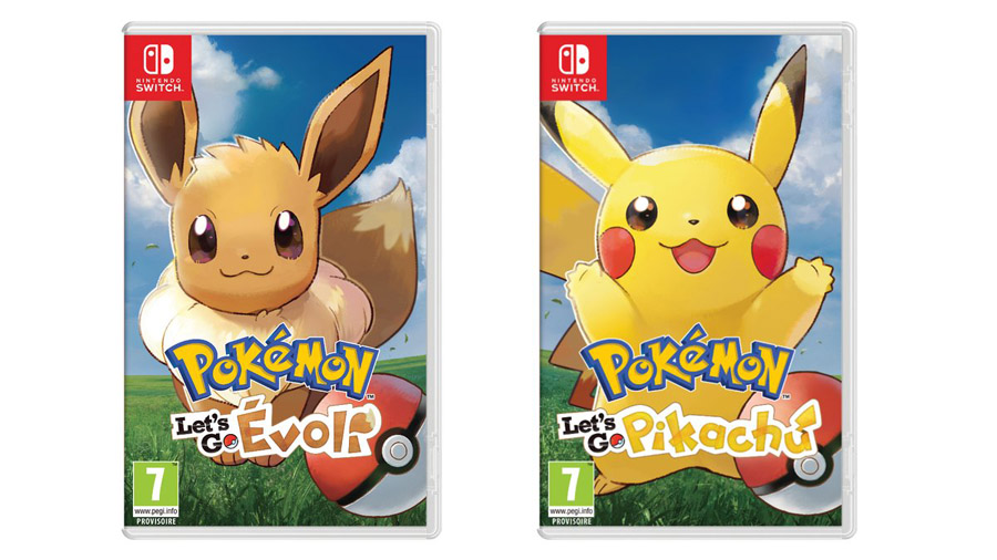 Jeux Nintendo Switch Pokémon Let's Go Pikachu et Evoli