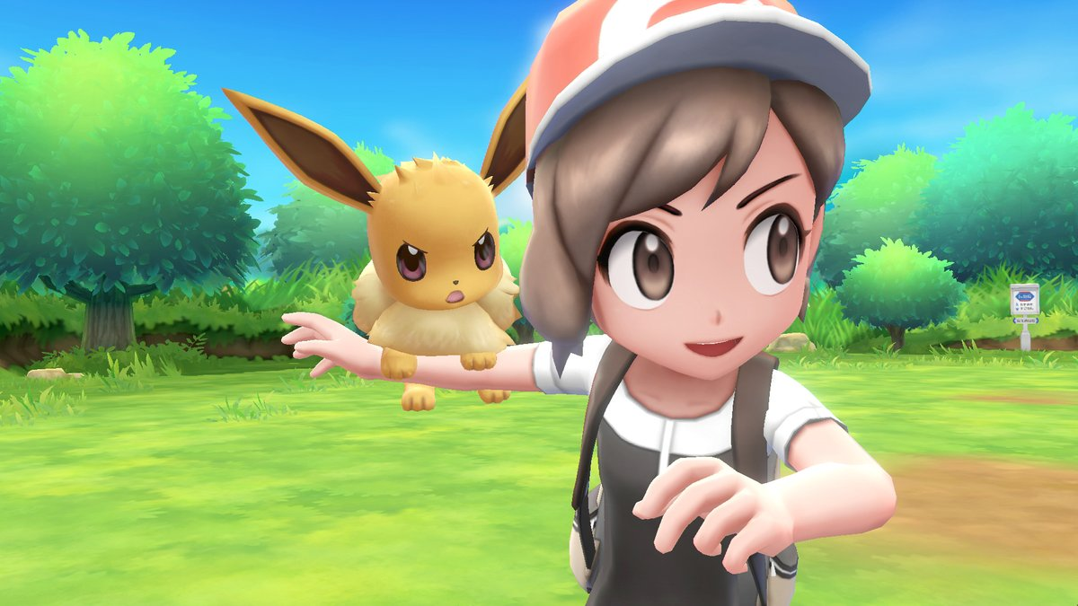 Pokémon Let's Go Pikachu et Evoli